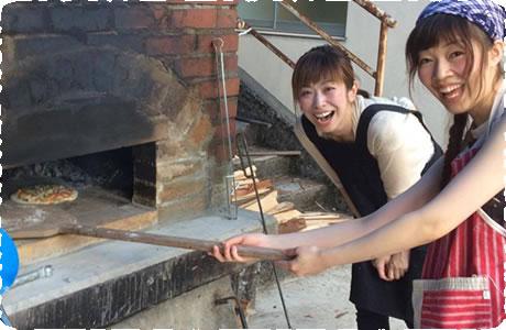 ピザ焼き体験(夏から予定)