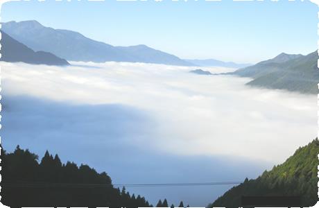 落窪雲海展望所ハイキング